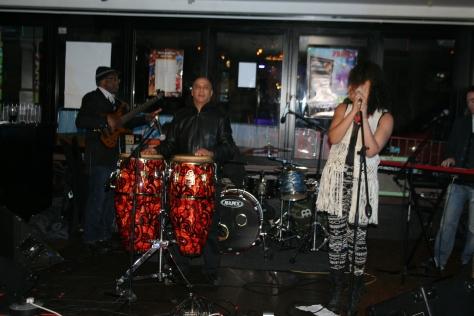 Rozaya and The Thorns at Pranjs Bar, Bristol